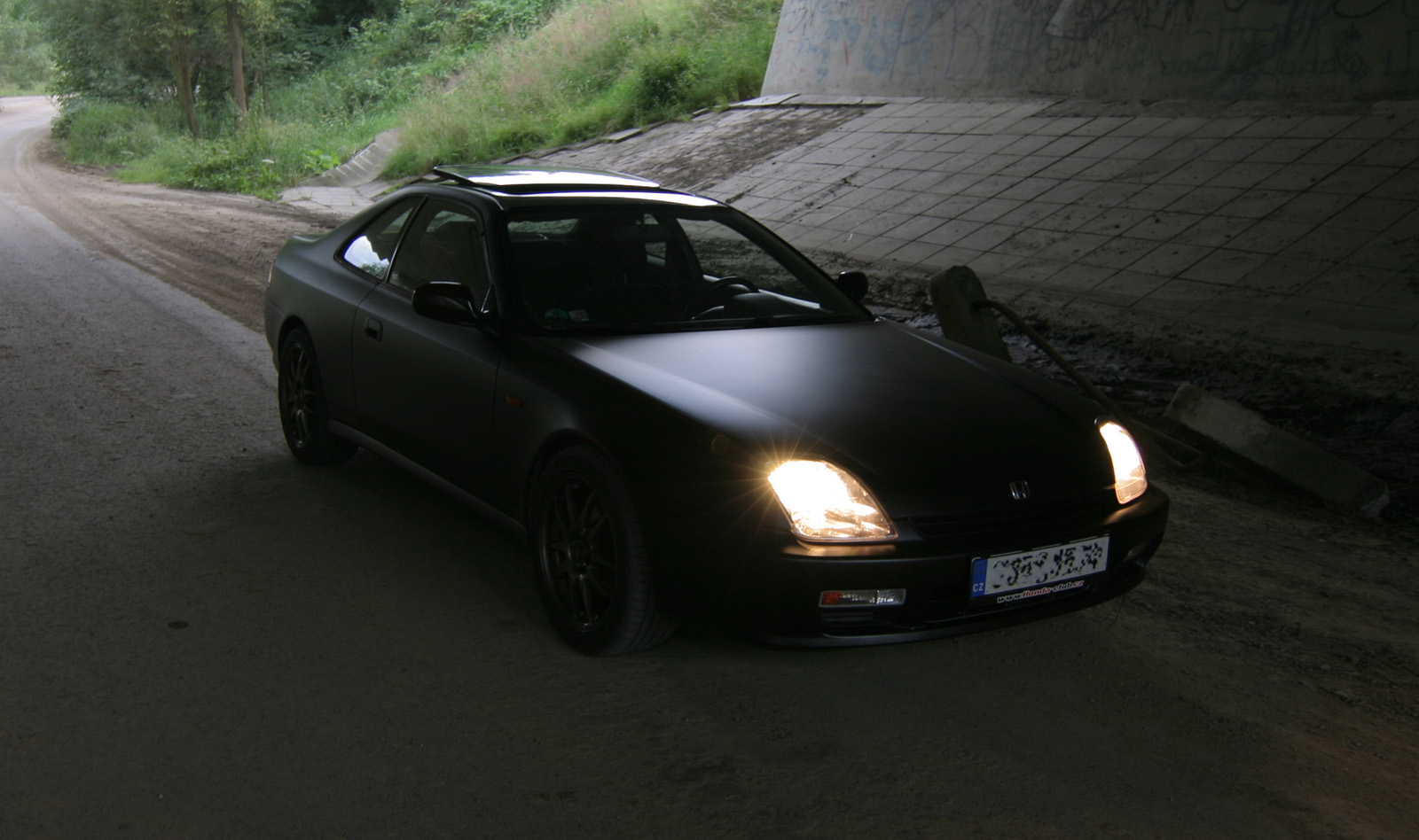 Opinions On Black Matte Vinyl Wrap For 5th Gen Lude Honda Prelude 1992 Main Relay Looks Pretty Awesome To Me Here Are Some Pictures I Found Dont Thinks It Wrapped Tho Btu What Wanna See Is A 4th In Flat